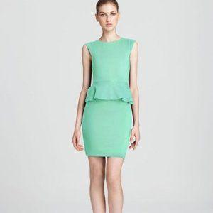 """Alice + Olivia """"Victoria"""" Peplum Mint Dress"""